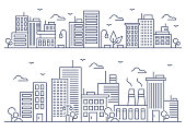 istock City line illustration 1214019215