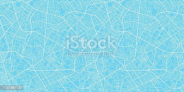 City map navigation seamless texture