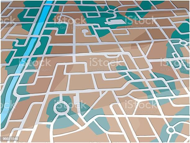 City Map-vektorgrafik och fler bilder på Bostadsområde