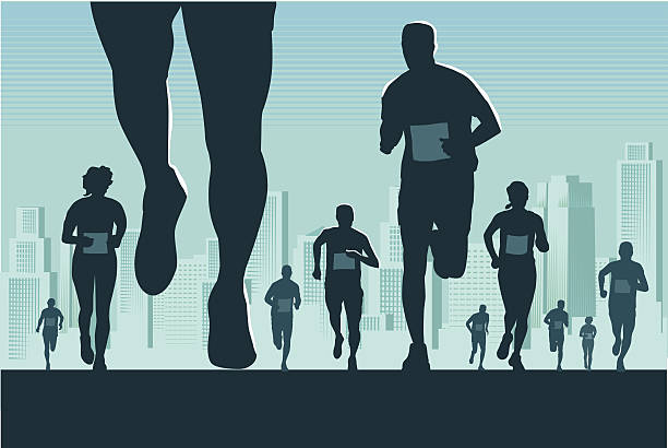 Marathon Illustrations, Royalty-Free Vector Graphics ...