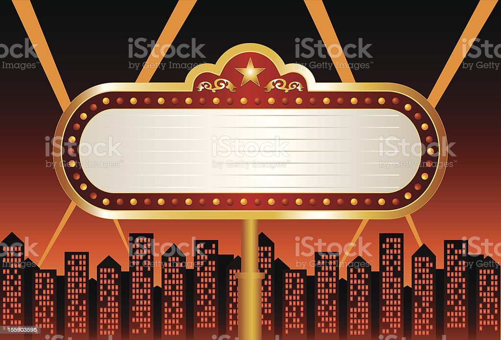 royalty free broadway marquee clip art vector images rh istockphoto com clipart marquee sign marquee clip art free
