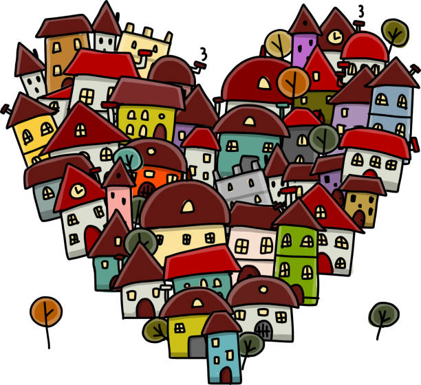 Love Your Neighbor Illustrations, Royalty-Free Vector Graphics ...