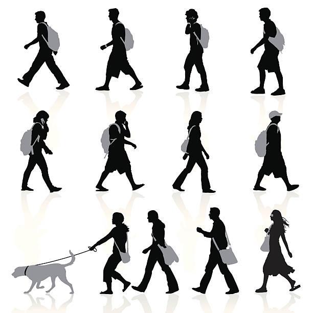 city personen - arbeitshunde stock-grafiken, -clipart, -cartoons und -symbole