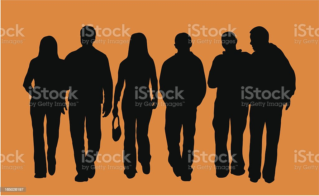 City People ( Vector ) royalty-free stock vector art