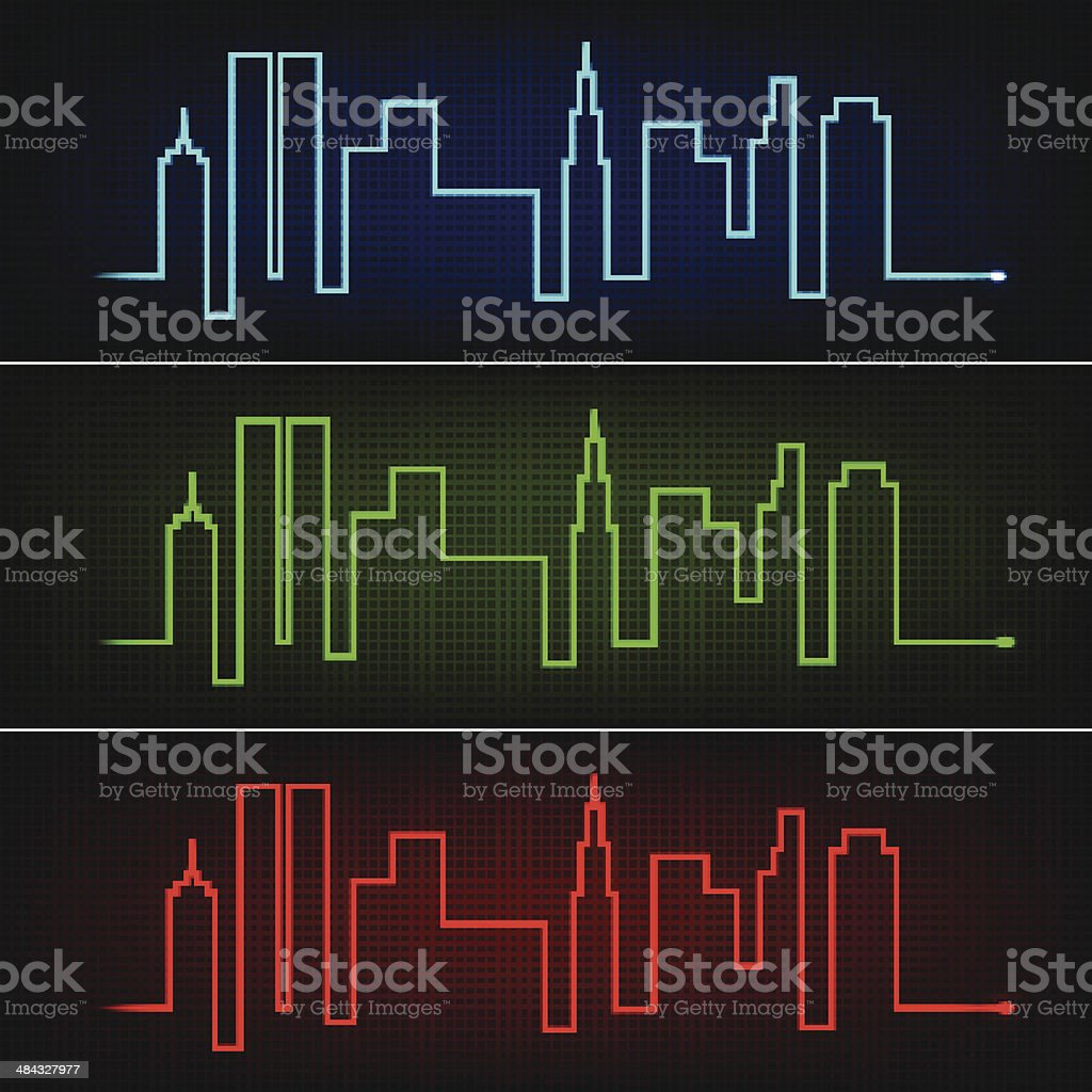 City pulse royalty-free city pulse stock vector art & more images of analyzing