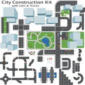 City Road Maker Construction Kit