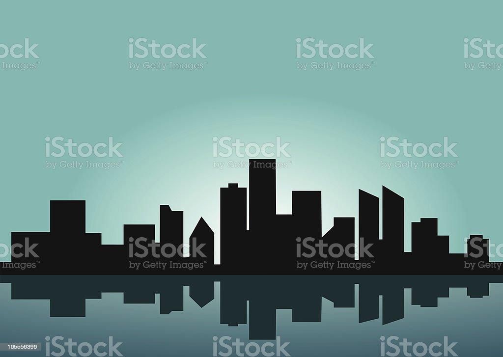 city scene royalty-free stock vector art