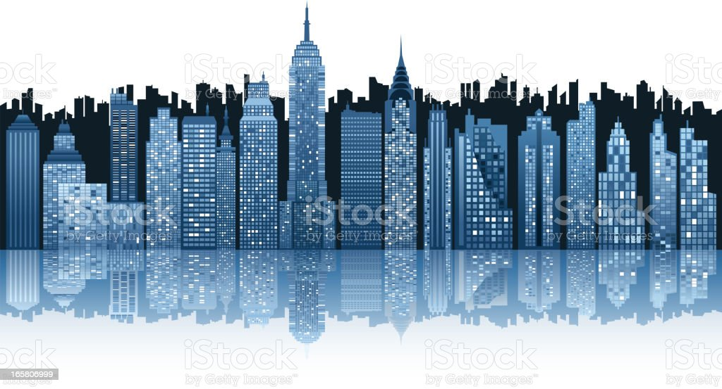 city silhouette royalty-free city silhouette stock vector art & more images of architecture