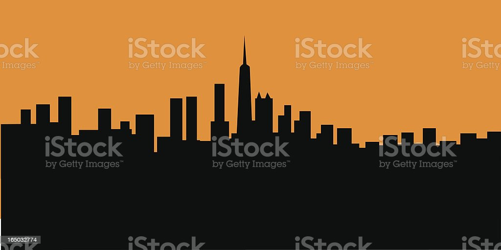 City Skyscape royalty-free city skyscape stock vector art & more images of building exterior