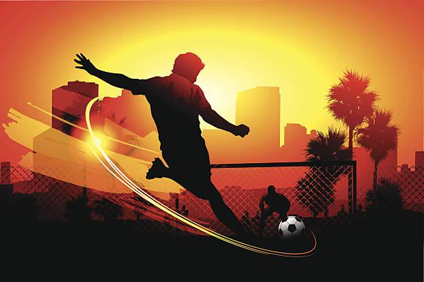city soccer - 進球 幅插畫檔、美工圖案、卡通及圖標