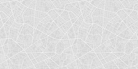 City Street Map clipart