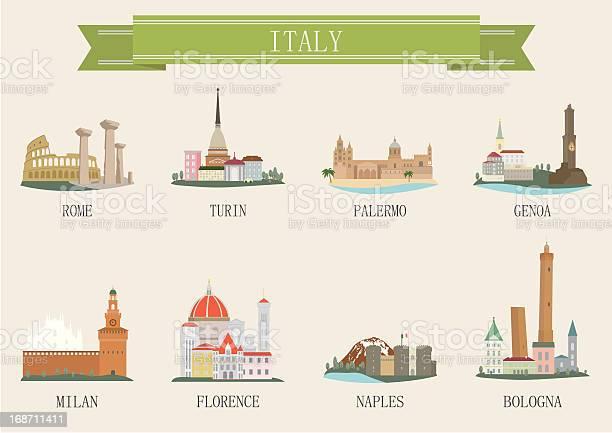 Simbolo Della Città Litalia - Immagini vettoriali stock e altre immagini di Ambientazione esterna
