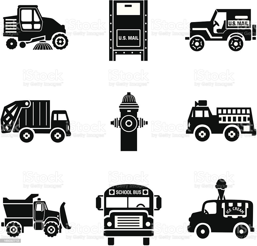city traffic 02 royalty-free city traffic 02 stock vector art & more images of black and white