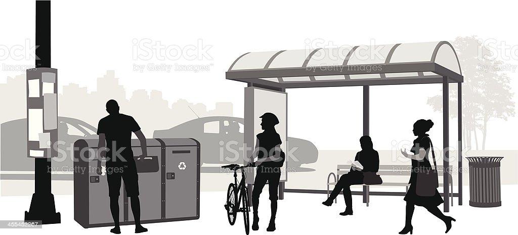 City Transportation royalty-free stock vector art