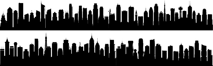 City (All Buildings Are Complete and Moveable)
