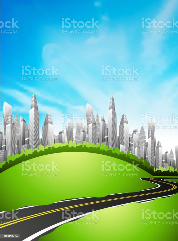 City royalty-free stock vector art