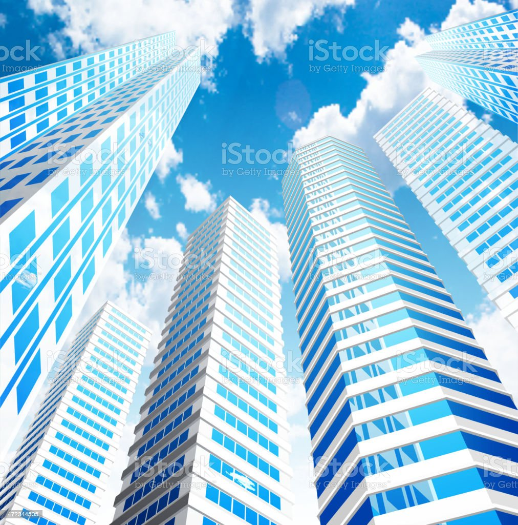 City – Vektorgrafik
