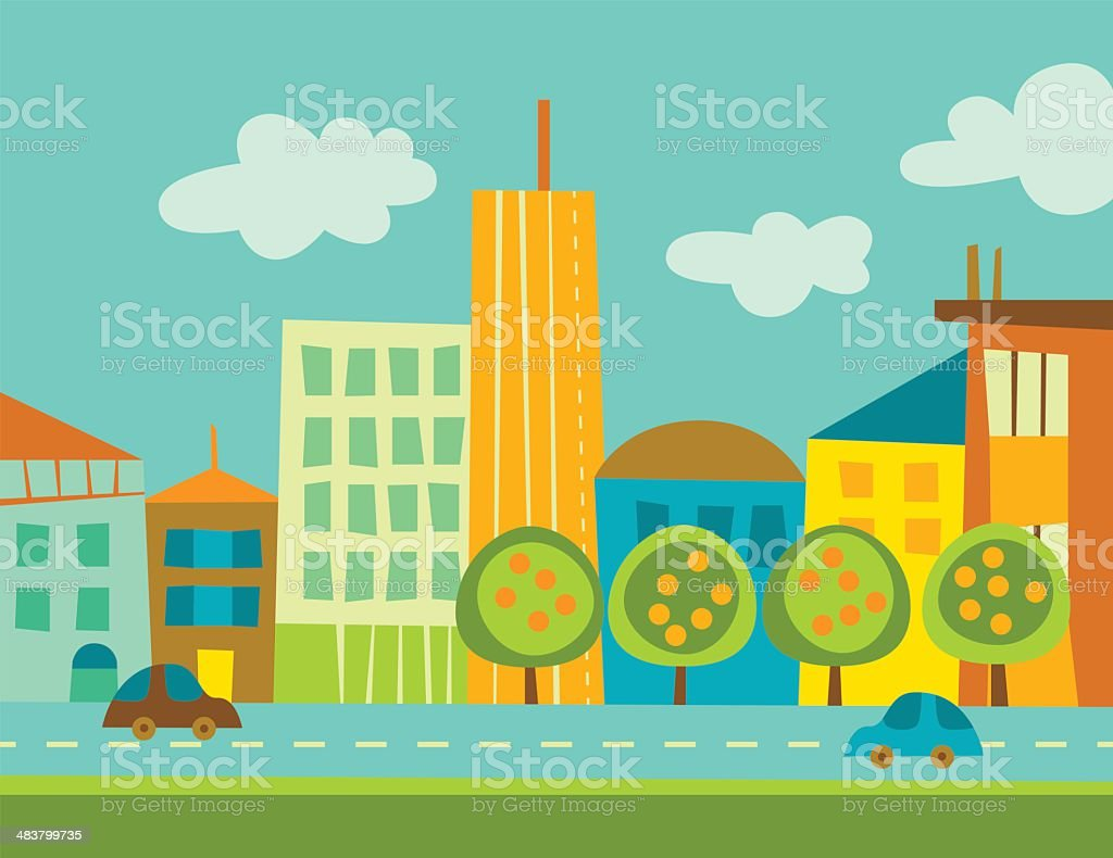 City royalty-free city stock vector art & more images of architecture