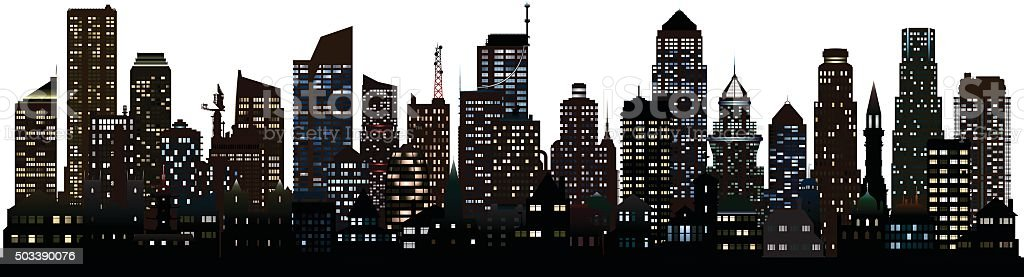 City (Buildings Are Detailed, Moveable and Complete)