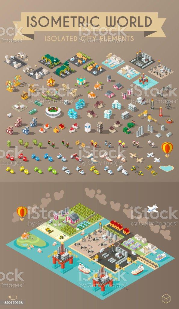 A la ciudad  - ilustración de arte vectorial