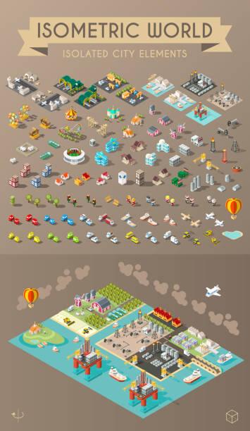 illustrations, cliparts, dessins animés et icônes de la ville  - animaux de la ferme