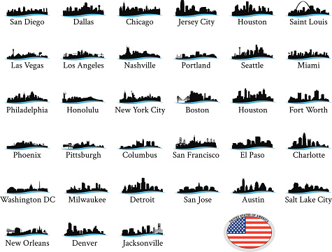US Cityscape Graphics