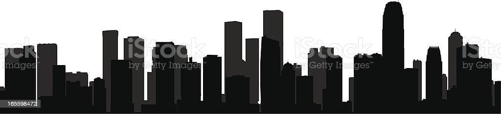 Paisaje urbano ilustración de paisaje urbano y más banco de imágenes de aire libre libre de derechos