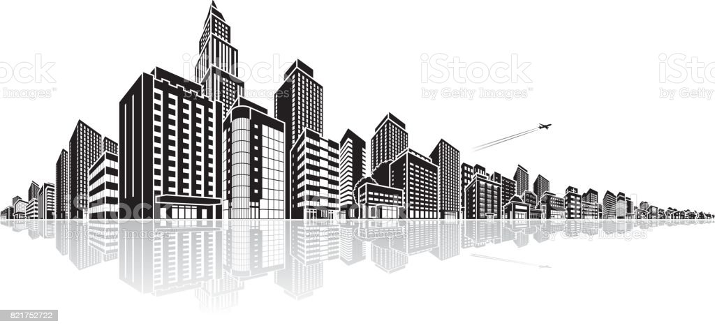 cityscape vector illustration stock vector art more images of rh istockphoto com cityscape vector ai file cityscape vector png