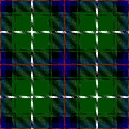 Clan Donald Scottish Tartan Plaid Textile Pattern