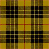 Clan MacLeod Scottish tartan plaid seamless textile pattern background.