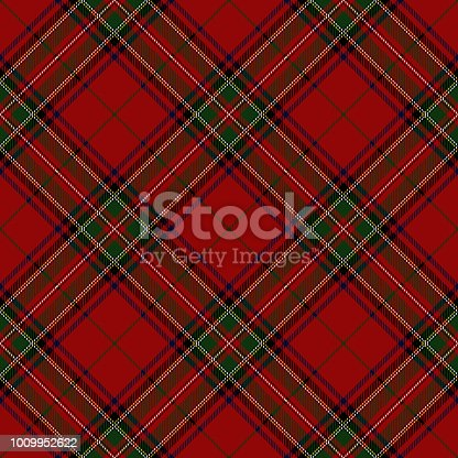 istock Clan Stewart Scottish Tartan Plaid 1009952622