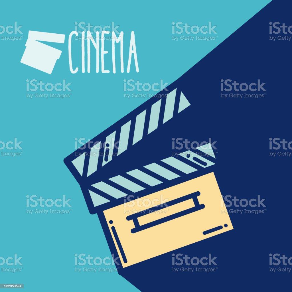 Schindeln Kino Cartoon Stock Vektor Art und mehr Bilder von ...