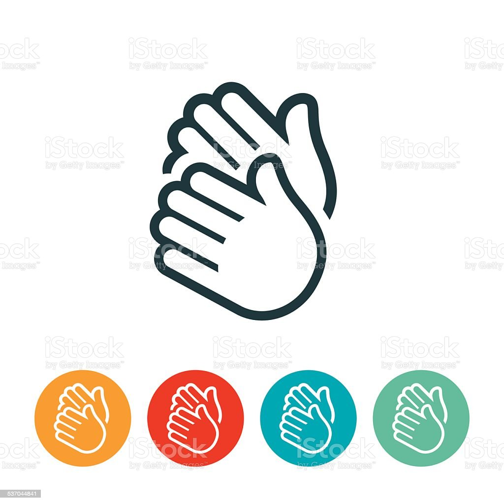 royalty free applause hands clip art vector images illustrations rh istockphoto com clapping hands clip art animated free black and white clipart of clapping hands