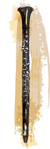 klarnet - klarnet stock illustrations