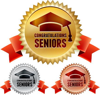 Class of 2013 Seniors Graduation Ribbon Awards