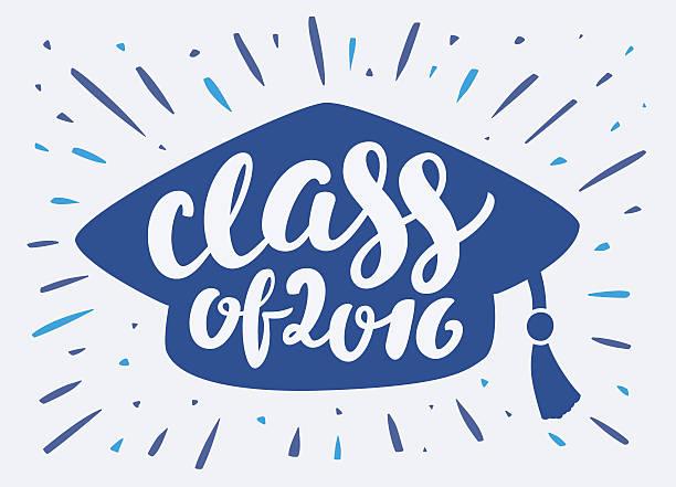 class of 2016. - reunion stock illustrations, clip art, cartoons, & icons