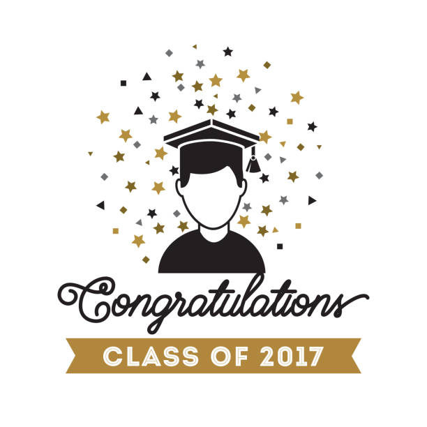 royalty free happy graduation card clip art vector images
