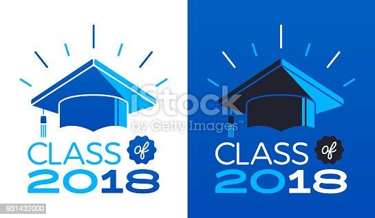 Class of 2018 symbol.