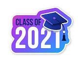 Class of 2021 congratulations graduate message.