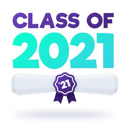 Class of 2021 Graduation Diploma