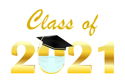 Class off mask, great design for any purposes. Vector text. Coronavirus concept. Stock image. EPS 10.