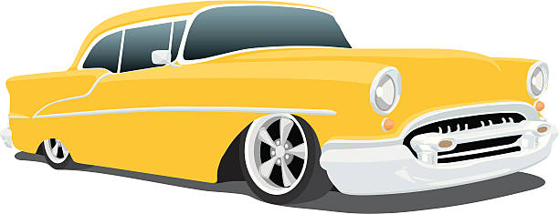 Chevrolet Bel Air Illustrations, Royalty-Free Vector ... (612 x 235 Pixel)