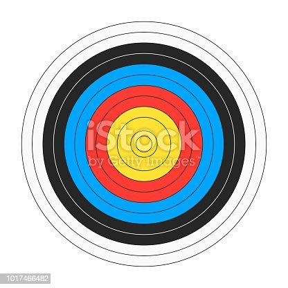 classic archers board target template for shooting bullseye symbol