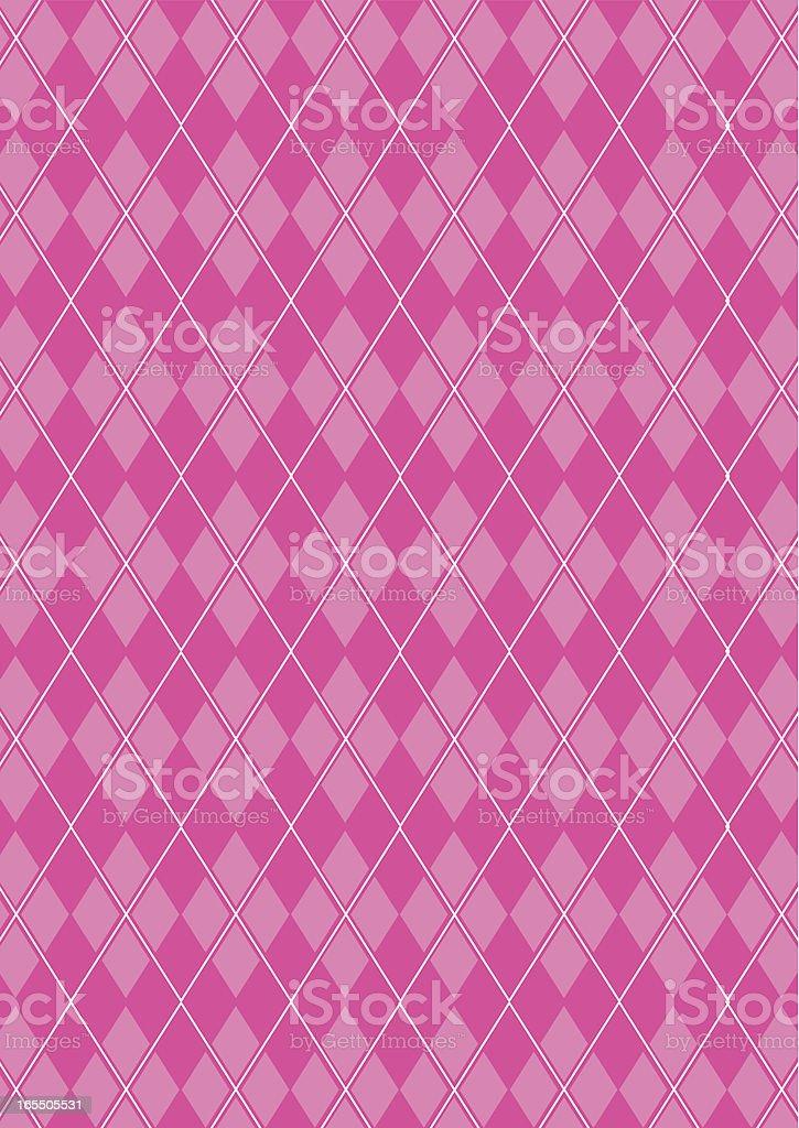 Classic Argyle Fashion Textile Pattern royalty-free stock vector art