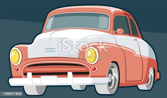 istock Classic car 1295077825