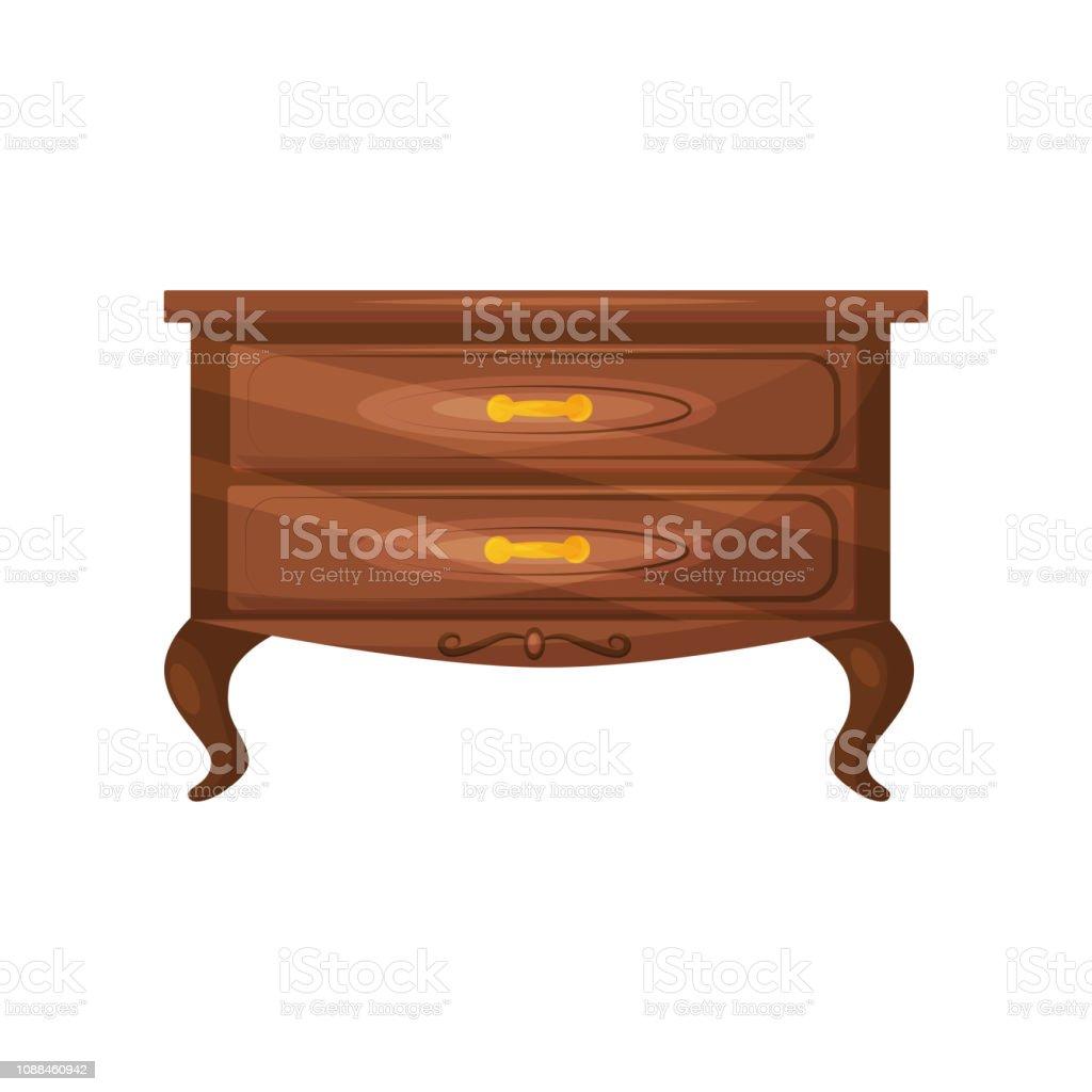 Klassische Kommode Mit Goldenen Griffen Möbel Für