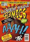 istock Classic Comic Cartoon Cover 936185820