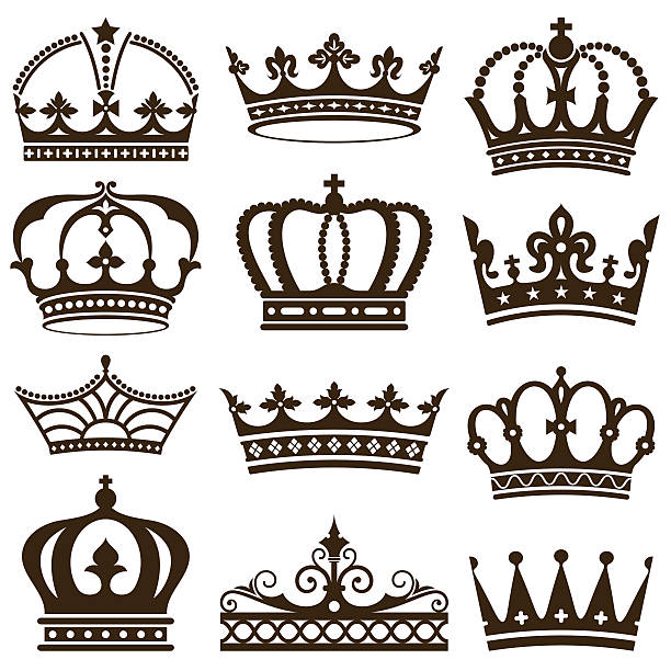 王冠 イラスト素材 Istock