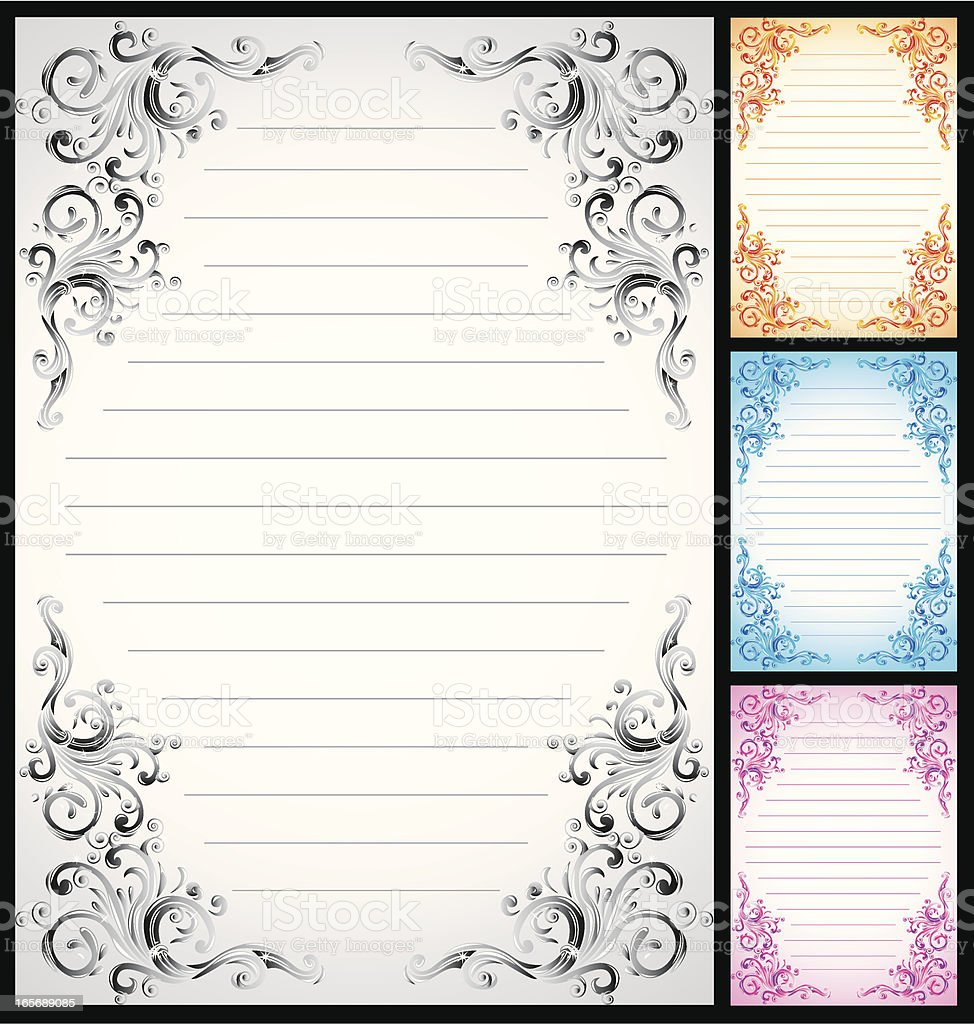 Classic decorative page royalty-free classic decorative page stock vector art & more images of blue