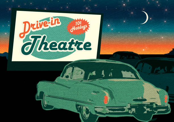 1950's style stock illustrations